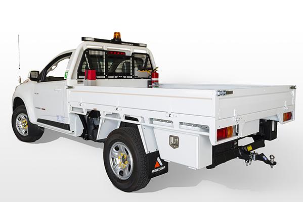 Holden Colorado single cab tray