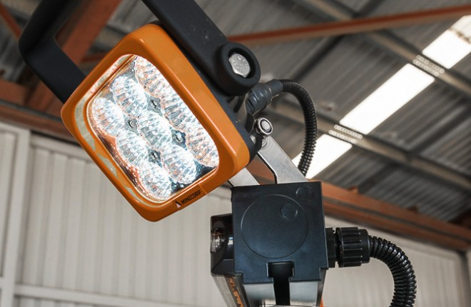Work Lights (Pair, Mounted)