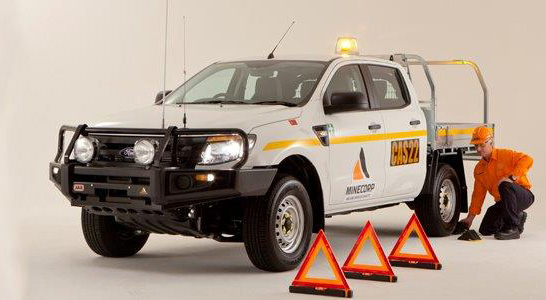 Ford Ranger Tray Fitout - Mine Spec