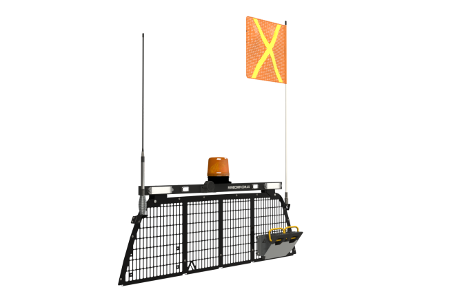 Minecorp Load Guard – OE Head Board Window Mesh