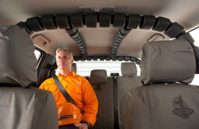 Internal ROPS – 4 Point Minecorp Safety Cell