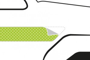 Reflective Tape (Green, High Visibility, Edge Sealed) Image (1)