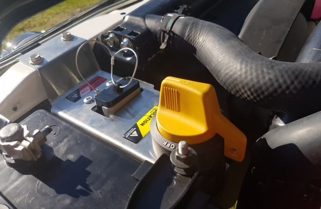 Starter Isolator with Jump Start