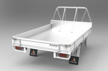 Tray Body (Alloy Floor, Alloy Drop Sides, ROPS Compatible) Image (1)
