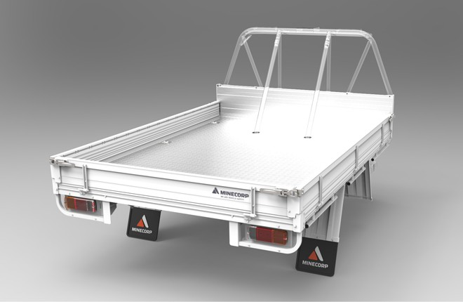 Tray Body (Alloy Floor, Alloy Drop Sides, ROPS Compatible)
