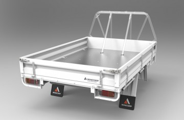 Tray Body (Gal, Steel Floor, Drop Sides ROPS Compatible) Image (1)