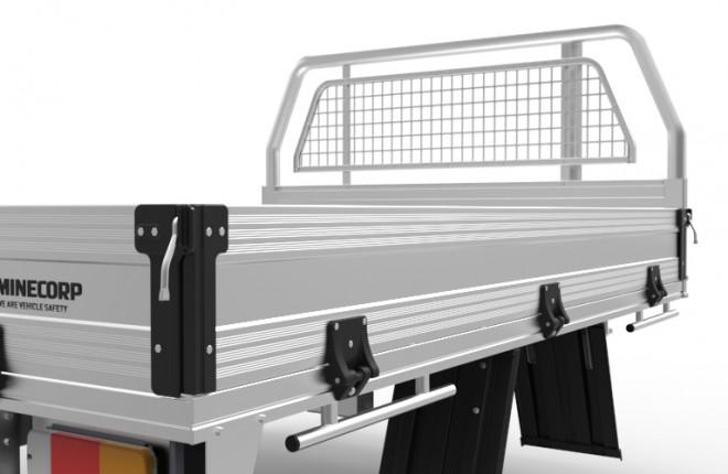 Level 2 Aluminium Tray