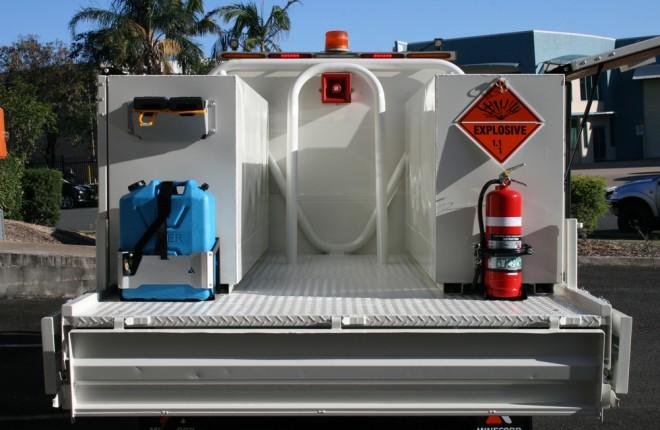 1800 Series Explosives Transport Box