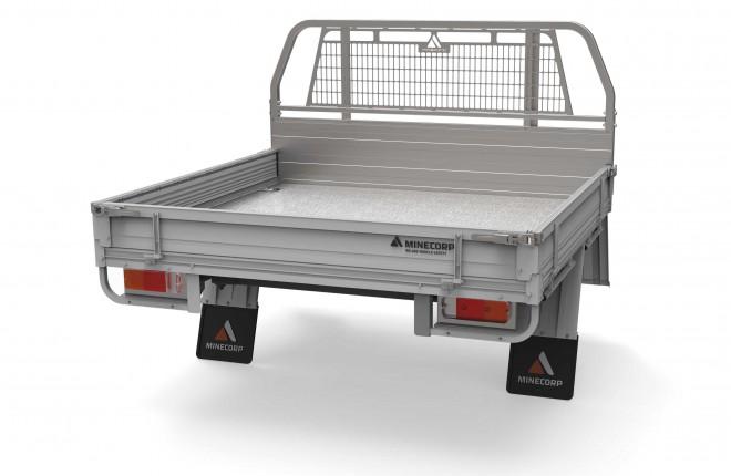 Level 3 Heavy Duty Aluminium Tray