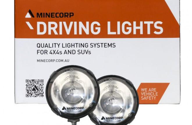 Minecorp Driving Lights