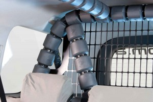 ROPS Internal 6 Point Safety Cell with Integrated Mesh Load Guard Image (4)