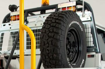 Second Spare Wheel and Tyre  Image (1)