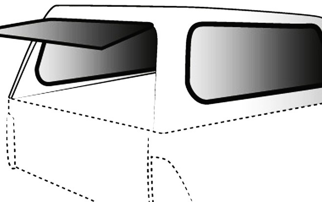 Canopy (Moulded Plastic)
