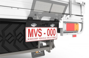 Licence Plate Holder (Under tray mounted)  Image (2)