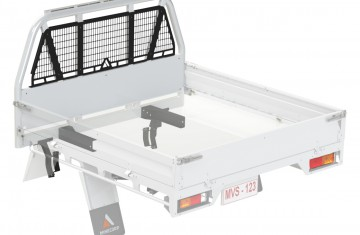 Minecorp Commercial Tray  with External Roll Bar (MCT-ERB) Image (2)