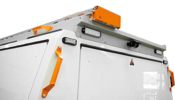 Canopy Roof Rack System & Conduit Holder