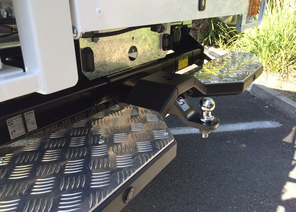 Rear Step & Three Point Access System