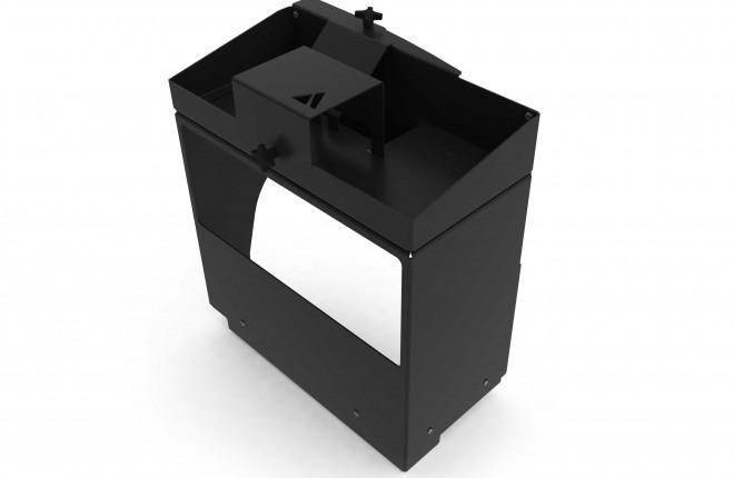 Toyota Prado 150 Series Rear Shelf Storage Box