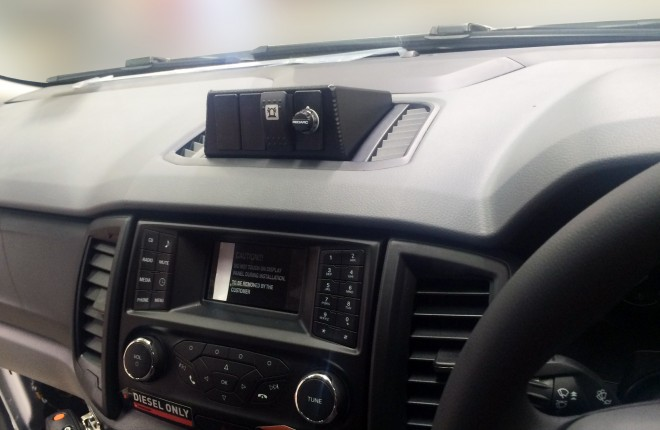 Ford PX Ranger Switch Mounting System