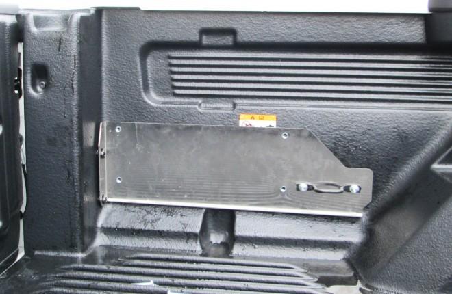 Ford PX Ranger 2015+ Wheel Chock Tub Adaptor