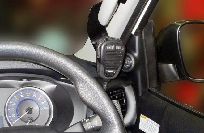 Toyota Hilux 2015+ UHF Mic Handset Mount