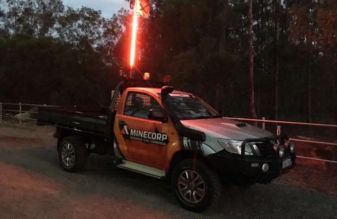 Minecorp RADIANCE LED Safety Flag